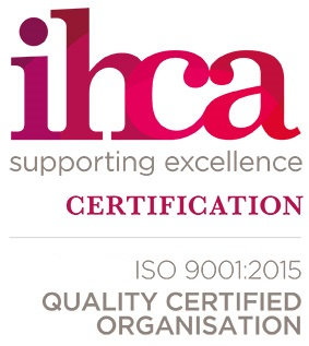 IHCA Supporting Excellence Certification ISO 9001:2015 Quality Certified Organisation